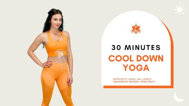 Yoga (cool down), All Levels (30min)