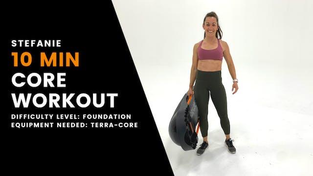 Foundation Core Workout (10min)