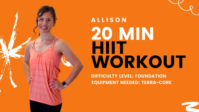 Foundation HIIT Workout (20min)