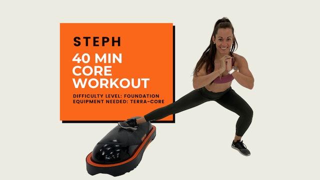 Foundation Core Workout (40 min)