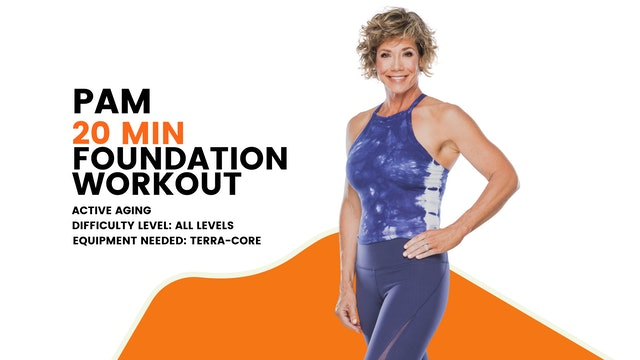 Active Aging Foundation Workout (20min) (All Levels)