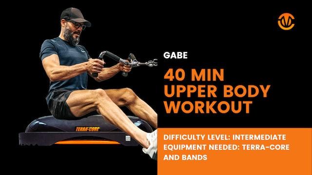 Intermediate Upper Body Workout (40min)