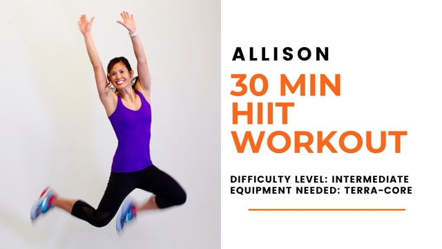 Intermediate HIIT Workout (30min)