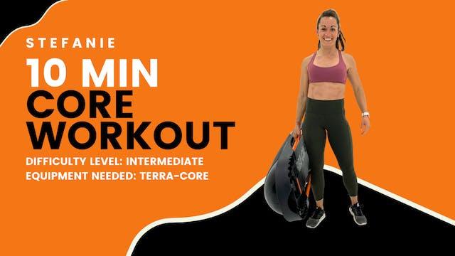 Intermediate Core Workout (10min)