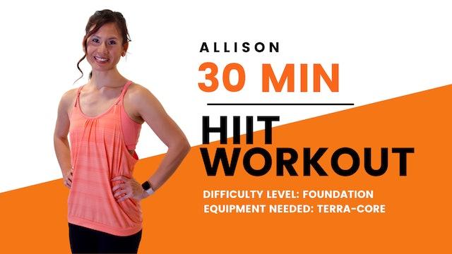 Foundation HIIT Workout (30min)