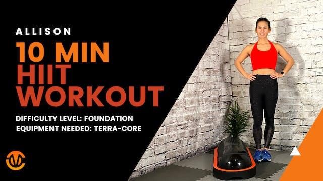 Foundation HIIT Workout (10 min)