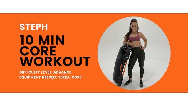 Advanced Core Workout (10min)