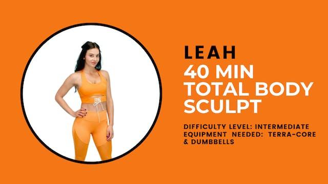 Intermediate/Advanced Total Body Work...