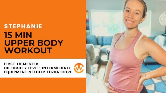 Foundation 1st Trimester Upper Body Workout (20min)