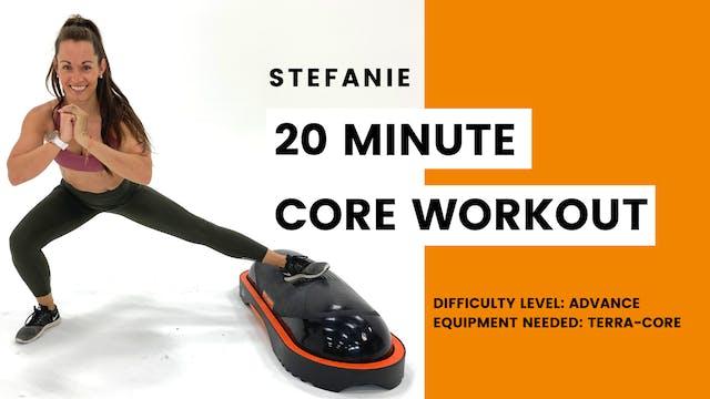 Advanced Core Workout (20min)