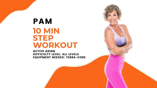 Active Aging Step Workout (10min) (All Levels)
