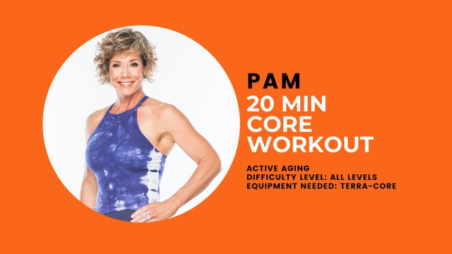 Active Aging Core Workout (20min) (All Levels)