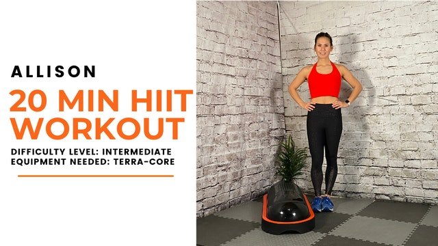 Intermediate HIIT Workout (20min)
