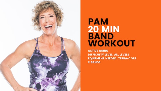 Active Aging Band Workout (20min) (All Levels)