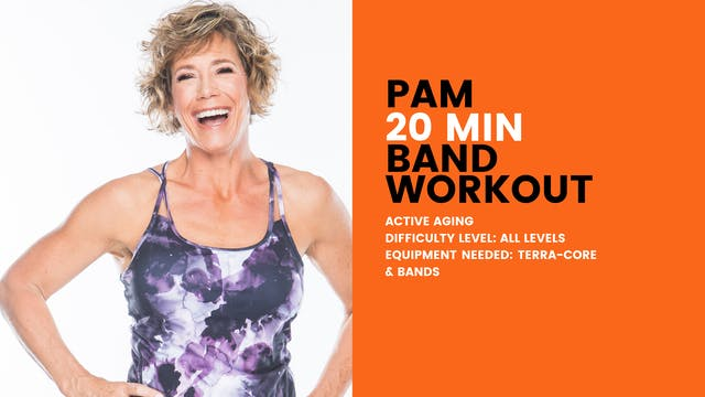 Active Aging Band Workout (20min) (Al...