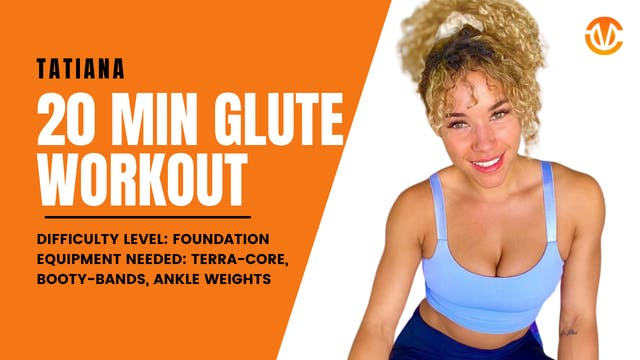 Foundation Lower Body Workout (20min)