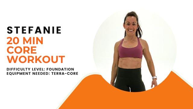 Foundation Core Workout (20min)