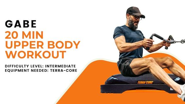 Intermediate Upper Body Workout (20min)