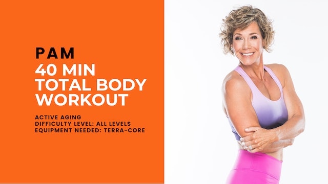 Active Aging Total Body Workout (40min) (All Levels)