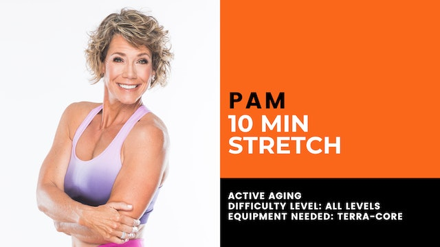 Active Aging Stretching (10min) (All Levels)