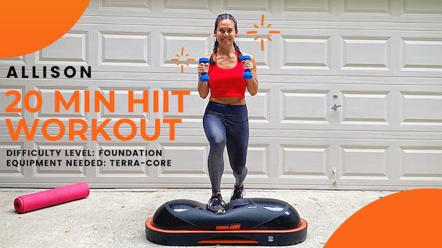 Foundation HIIT Workout (20 min)