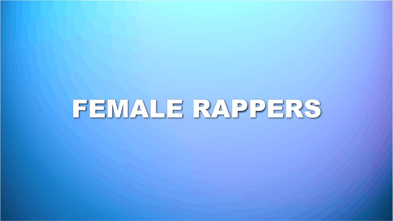 Female Rappers