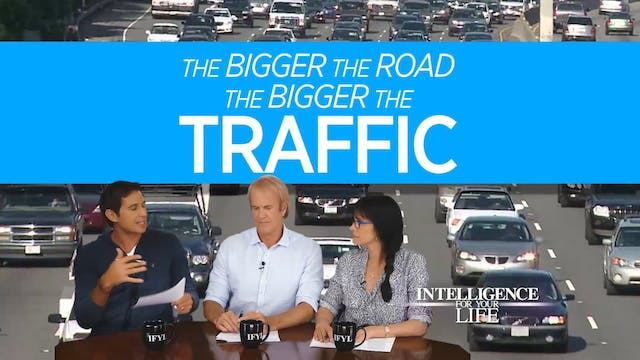 90 Seconds: Smaller Roads And Traffic...