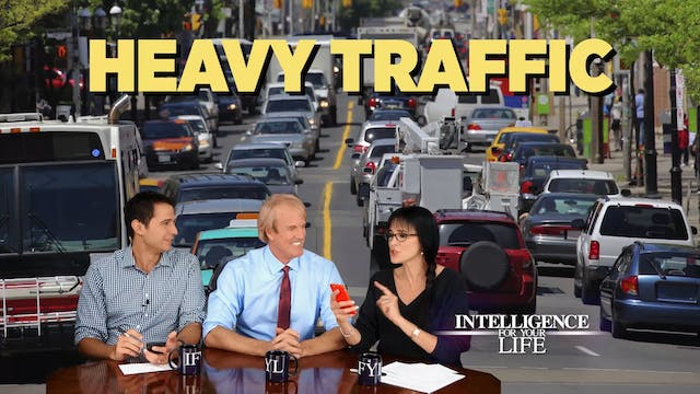 90 Seconds: Traffic And Heart Attacks...