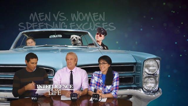 Men Vs Women Speeding Excuses