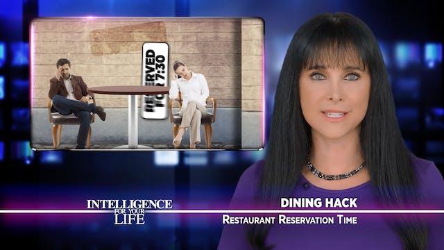 Restaurant Reservation Time Intel