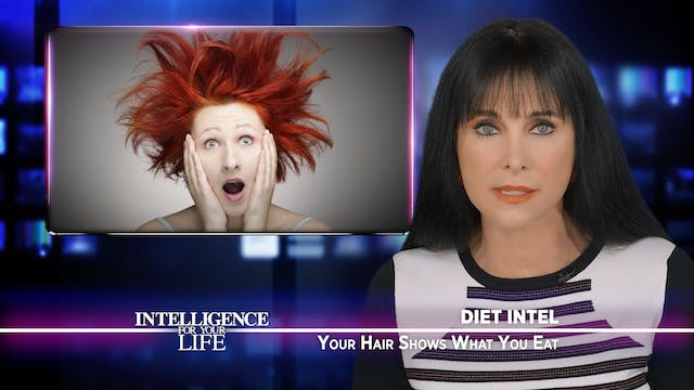 Your Diet Affects Your Hair