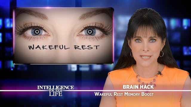 Wakeful Rest Memory Boost