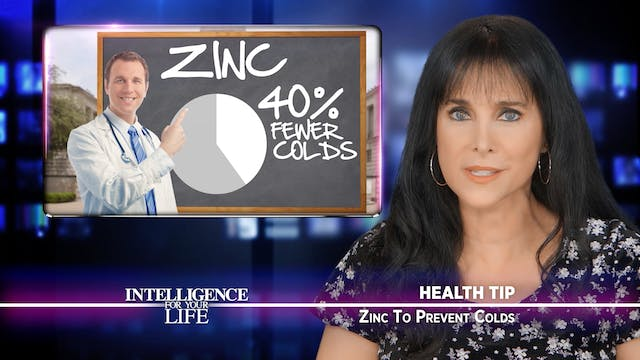 Zinc Helps To Prevent Colds