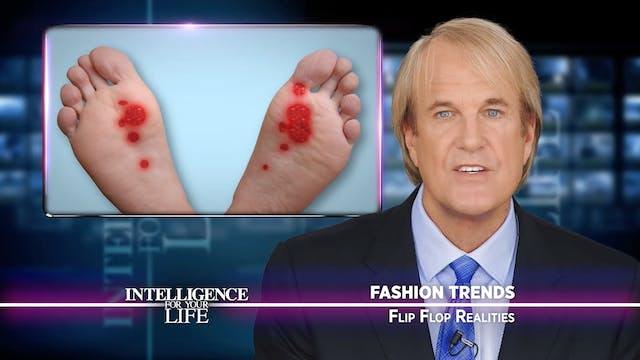 Your Flip Flops Are Bad For Your Feet