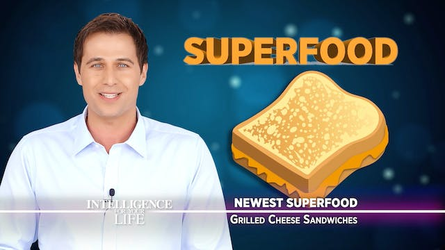 The Newest Superfood - Grilled Cheese...