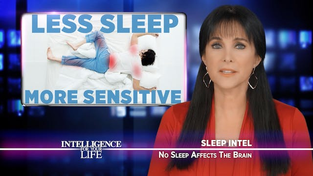Lack Of Sleep Affects Your Brain