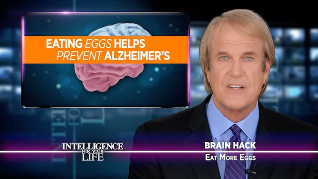 Eat More Eggs To Keep Your Brain Cell...
