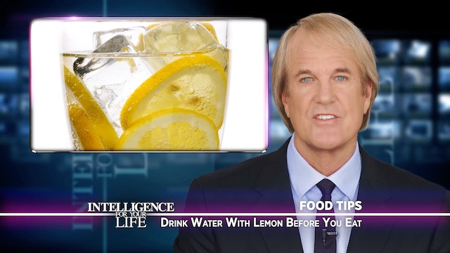 Drink Water With Lemon Before Lunch
