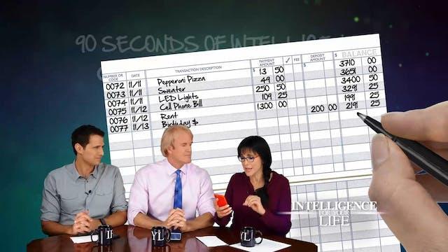 90 Second: Checkbook Stress, Green Te...