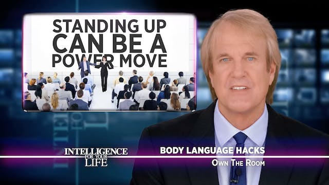 Body Language Tricks To Own The Room