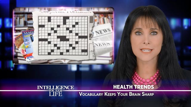 Vocabulary Keeps Your Brain Sharp