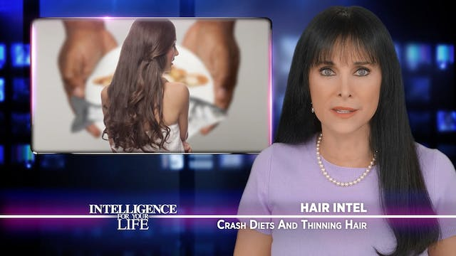 Crash Diets Cause Hair Loss And Thinning