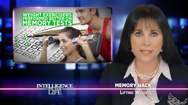 Lifing Weights Boosts Your Memory