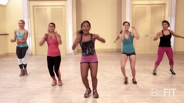 Cardio Fitness Party Workout Burn to the Beat- Keaira LaShae