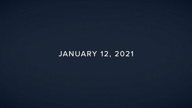 Daily Reflections – January 12, 2021