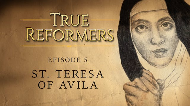 Saint Teresa of Ávila: A Study in Per...