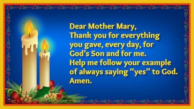 Day 6 - Mary