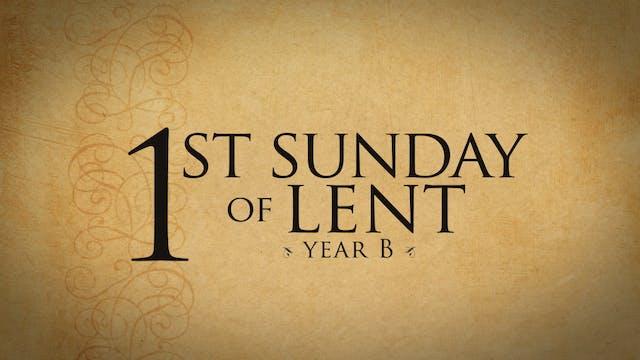 1st Sunday of Lent (Year B)