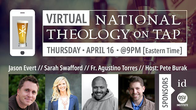 Virtual National Theology on Tap #1