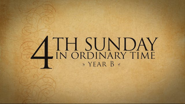 4th Sunday in Ordinary Time (Year B)